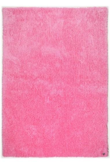 Covor Tom Tailor Shaggy Soft Roz 140x200 cm