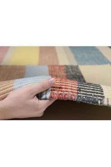 Covor Tom Tailor Modern & Geometric Vintage Multicolor 140x200 cm