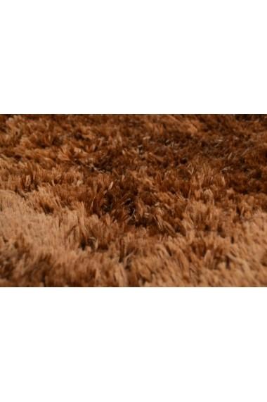 Covor Tom Tailor Shaggy Flocatic Maro 60x90 cm