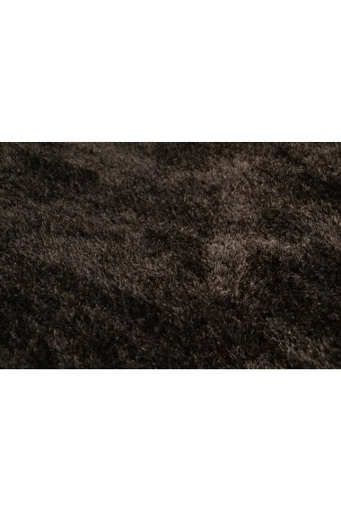Covor Tom Tailor Shaggy Soft Maro 190x190 cm