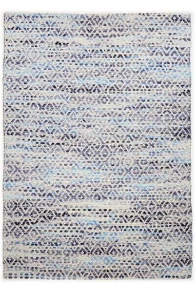 Covor Tom Tailor Modern & Geometric Smooth Comfort Albastru 140x200 cm