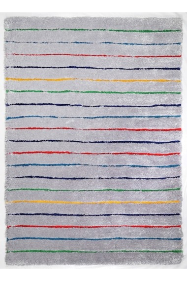 Covor Tom Tailor Shaggy Soft Multicolor 65x135 cm