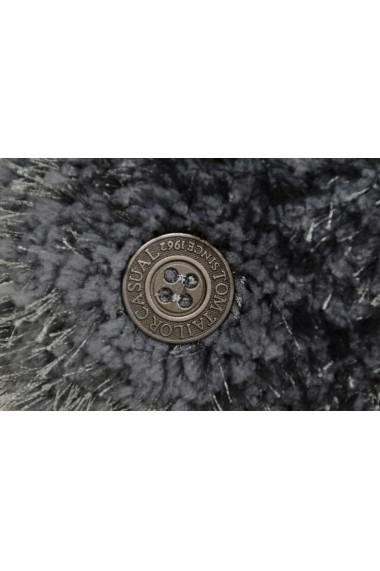 Covor Tom Tailor Shaggy Soft Gri 65x135 cm