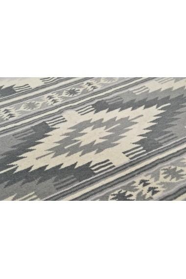 Covor Tom Tailor Modern & Geometric Vintage Gri 65x135 cm