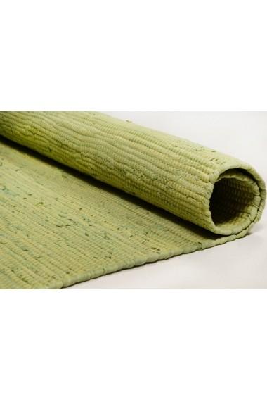 Covor Tom Tailor Unicolor Cotton Colors Bumbac Verde 60x120 cm