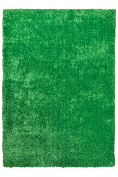 Covor Tom Tailor Shaggy Soft Verde 65x135 cm