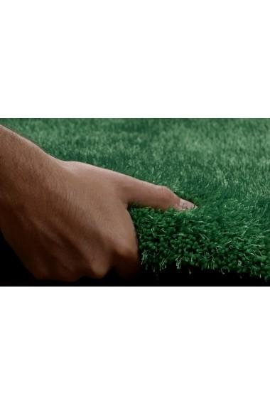 Covor Tom Tailor Shaggy Soft Verde 85x155 cm