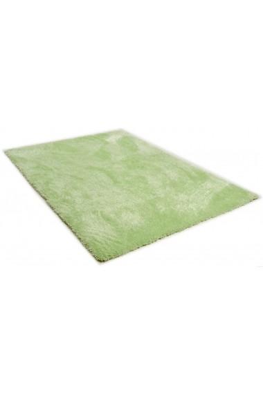 Covor Tom Tailor Shaggy Soft Verde 65x135 cm