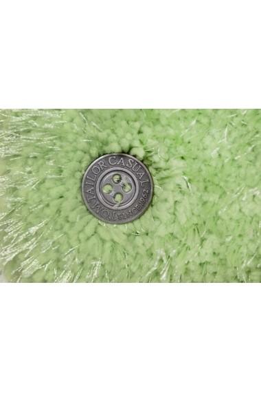 Covor Tom Tailor Shaggy Soft Verde 140x200 cm