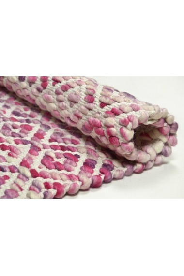 Covor Tom Tailor Modern & Geometric Smooth Comfort Roz 85x155 cm