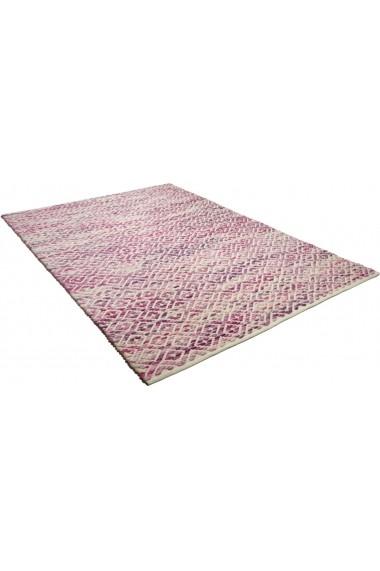 Covor Tom Tailor Modern & Geometric Smooth Comfort Roz 160x230 cm