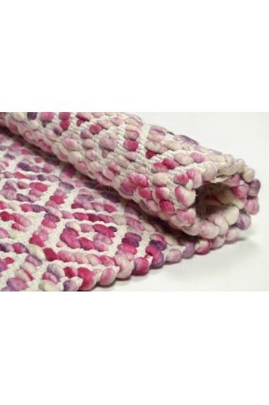 Covor Tom Tailor Modern & Geometric Smooth Comfort Roz 190x290 cm