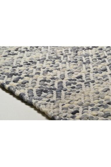 Covor Tom Tailor Modern & Geometric Smooth Comfort Gri 140x200 cm