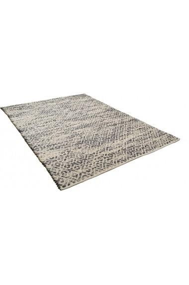 Covor Tom Tailor Modern & Geometric Smooth Comfort Gri 160x230 cm
