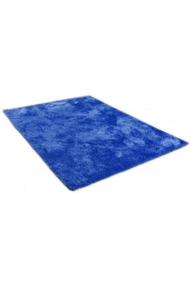 Covor Tom Tailor Shaggy Soft Albastru 85x155 cm