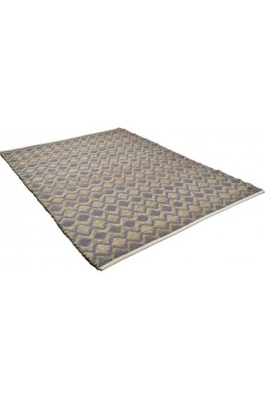Covor Tom Tailor Modern & Geometric Smooth Comfort Maro 65x135 cm