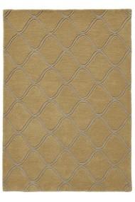 Covor Decorino Modern & Geometric Izmir Lana Galben 120x170 cm
