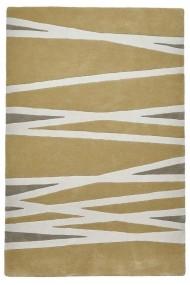 Covor Decorino Modern & Geometric Izmir Lana Galben 150x230 cm