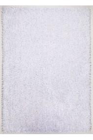 Covor Decorino Pufos Woody Alb 80x150 cm