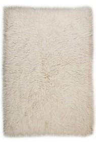 Covor Decorino Shaggy Suez Lana Crem 140x200 cm
