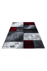 Covor Decorino Patchwork Detroit Rosu 200x290 cm
