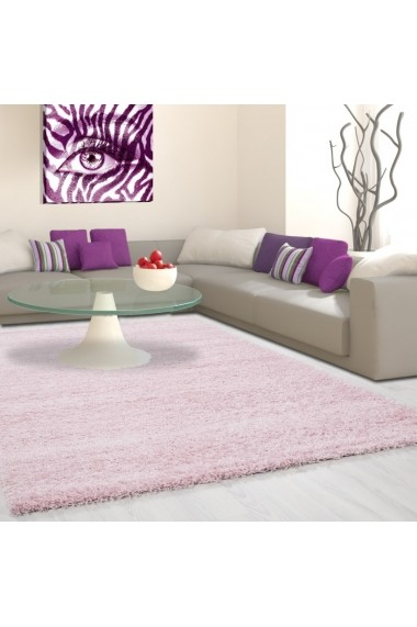 Covor Decorino Shaggy Louis Roz 80x250 cm