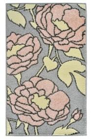 Covor Decorino Floral Guelma Roz 67x120 cm