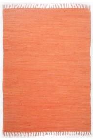 Covor Decorino Unicolor Dondo Bumbac Portocaliu 40x60 cm