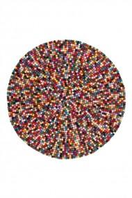 Covor Decorino Shaggy Latium Rotund Multicolor 120x120 cm