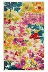 Covor Decorino Floral Abbes Multicolor 100x150 cm
