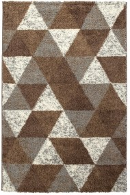 Covor Decorino Modern & Geometric Hugh Maro/Bej 100x150 cm