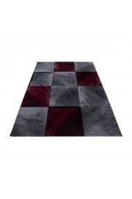 Covor Decorino Modern & Geometric Verdis Rosu 120x170 cm