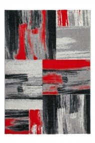 Covor Decorino Patchwork Pavia Rosu 120x170 cm