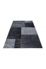 Covor Decorino Modern & Geometric Verdis Negru 80x300 cm