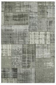 Covor Decorino Patchwork Dion Gri 80x150 cm