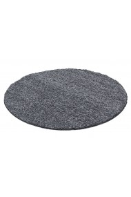 Covor Decorino Shaggy Louis Rotund Gri 200x200 cm