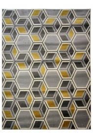 Covor Decorino Modern & Geometric Mimosa Gri/Galben 160x230 cm