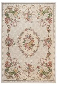 Covor Decorino Floral Riaba Bej 120x180 cm