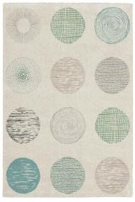 Covor Decorino Modern & Geometric Sparta Alb 80x150 cm