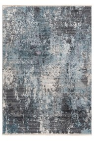 Covor Decorino Modern & Geometric Foley Gri/Albastru 200x290 cm