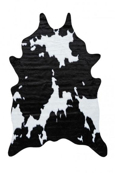 Covor Decorino Animal Print Sidra Alb 150x200 cm