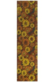Traversa Decorino Bucatarie Girasoli Multicolor 67x200