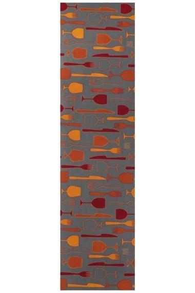 Traversa Decorino Bucatarie Tavola Multicolor 67x100