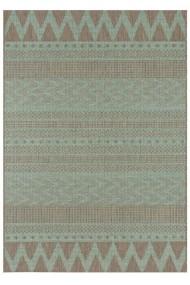 Covor Bougari Modern & Geometric Jaffa Verde/Taupe 140x200 cm