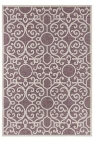 Covor Bougari Modern & Geometric Jaffa Mov 70x140 cm