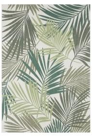 Covor Bougari Modern & Geometric Beach Verde/Crem 160x230 cm