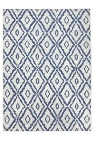 Covor Bougari Modern & Geometric Twin Albastru 200x290 cm