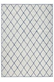Covor Bougari Modern & Geometric Twin Albastru 160x230 cm