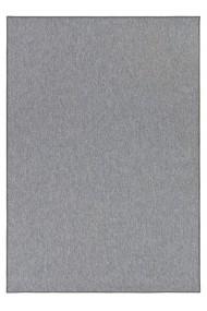 Covor BT Carpet Unicolor Casual Gri 80x300 cm
