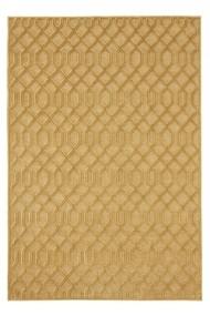 Covor Mint Rugs Modern & Geometric Shine Galben 80x125 cm
